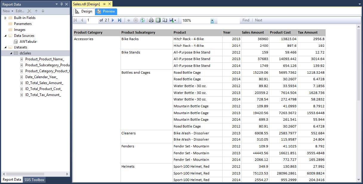 Create SSRS Report using DAX   BI4ALL   Turning Data Into
