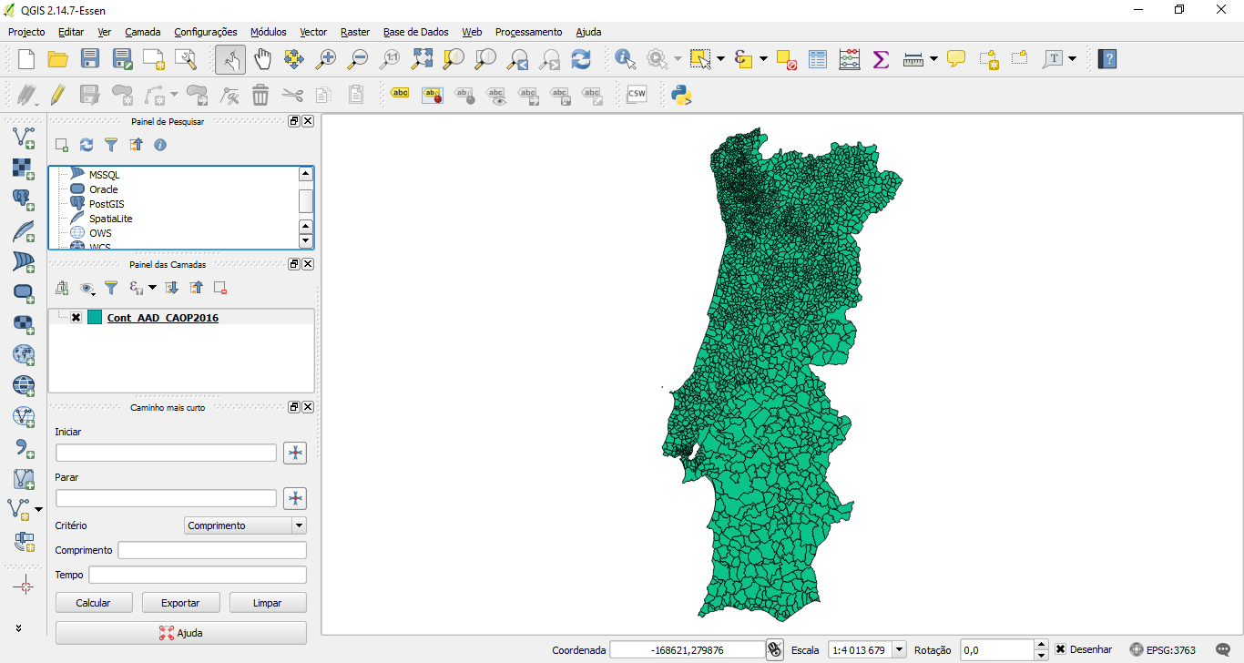 Edit Shapefiles with QGIS Software