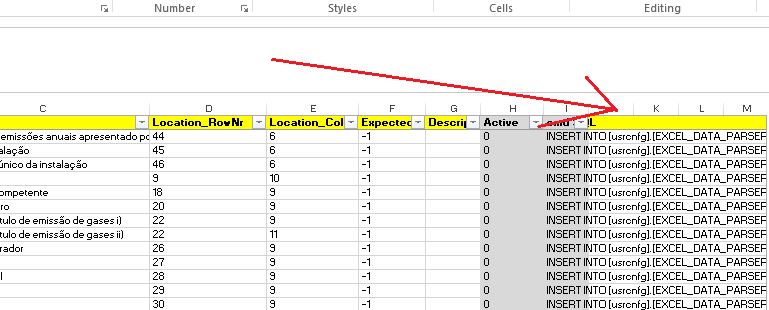 SSIS Excel Parser Business Intelligence