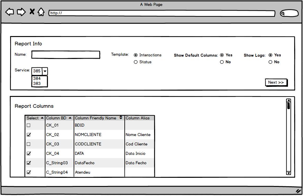 RDL randstad business intelligence report definition language BI4ALL