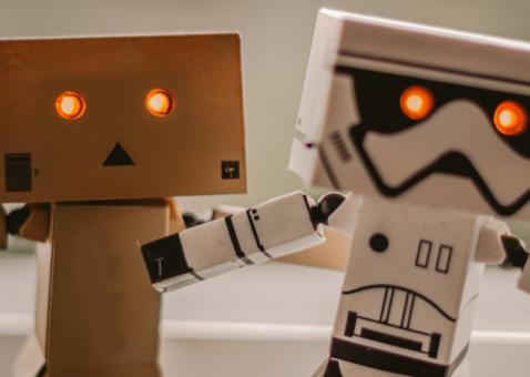E se o seu colega do lado fosse um robot?