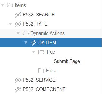 Como criar links dinâmicos em Oracle Application Express?