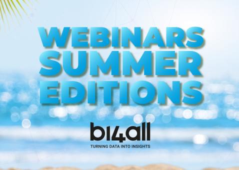Webinars Summer Edition